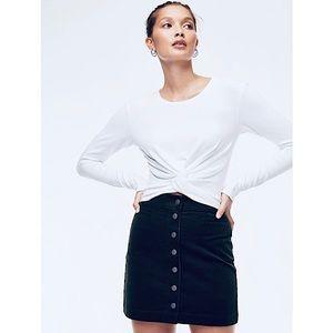 Wilfred Free (Aritzia) 'Karmen' Corduroy Skirt